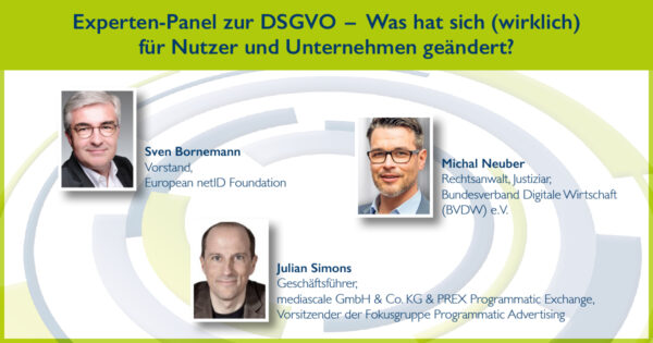 DSGVO-Panel beim Online Ad Summit 2018