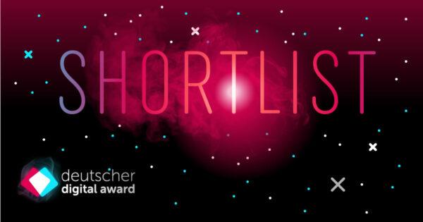 Deutscher Digital Award 2021: Shortlist veröffentlicht